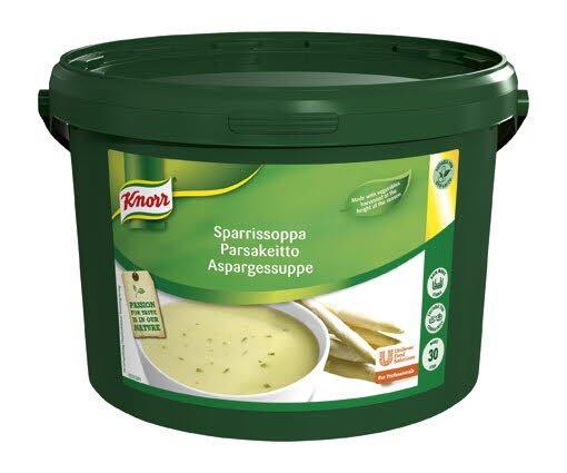 Knorr Aspargessuppe 1 x 3 KG / 30 L -