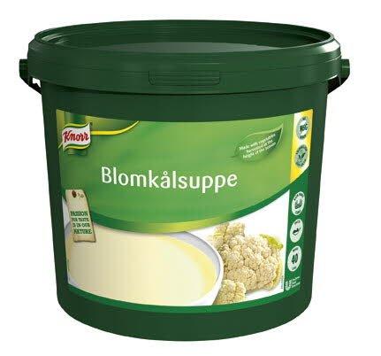 Knorr Blomkålssuppe, pasta 1 x 4 KG / 40 L