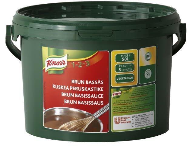 Knorr Brun basissauce 3,75 kg /  50 l