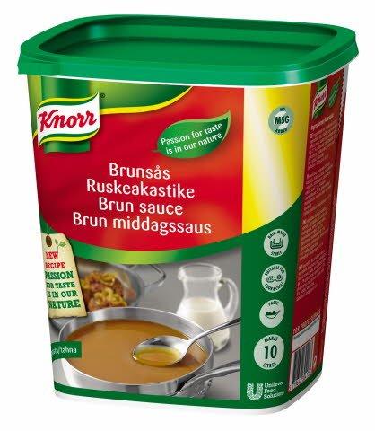 Knorr Brun sauce, pasta 1 kg / 10 l -