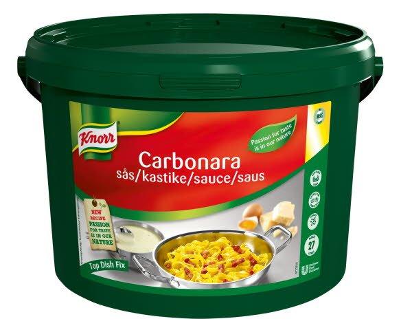 Knorr Carbonara sauce 3,75 kg / 27 l