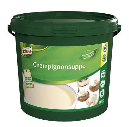 Knorr Champignonsuppe, pasta 1 x 4 KG / 40 L