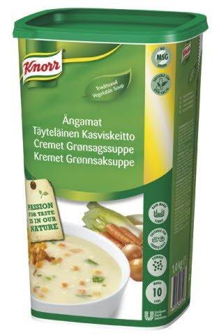 Knorr Cremet grønsagssuppe 1 kg / 10 L