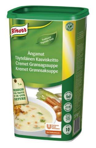 Knorr Cremet grønsagssuppe 1 kg / 10 L -