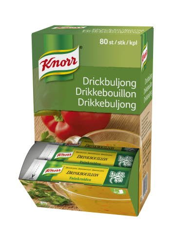 Knorr Drikkebouillon 80 breve