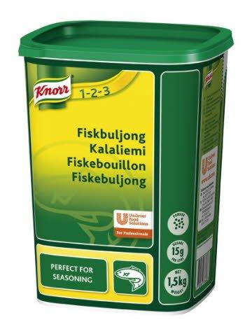 Knorr Fiskebouillon, granulat 1,5 kg / 100 l