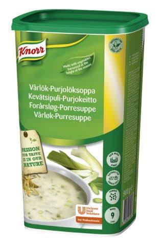 Knorr Forårsløg- og porresuppe 0,9 kg / 9 L -
