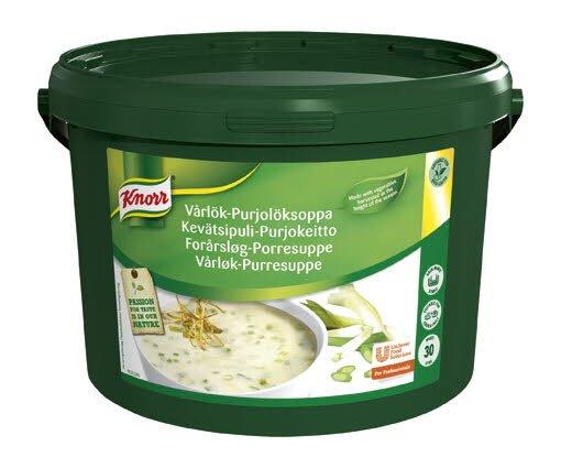 Knorr Forårsløg- og porresuppe / 1 x 3 KG / 30 L