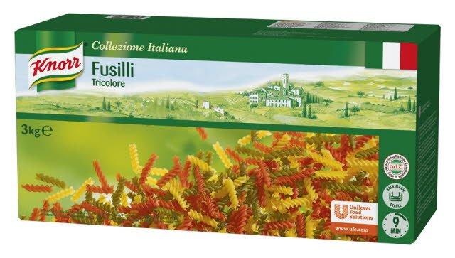 Knorr Fusilli Tricolore 3 kg -