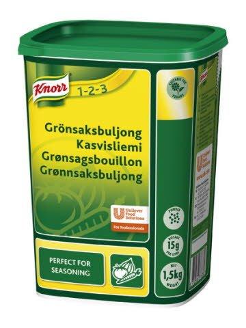 Knorr Grønsagsbouillon, granulat 1,5 kg / 100 l