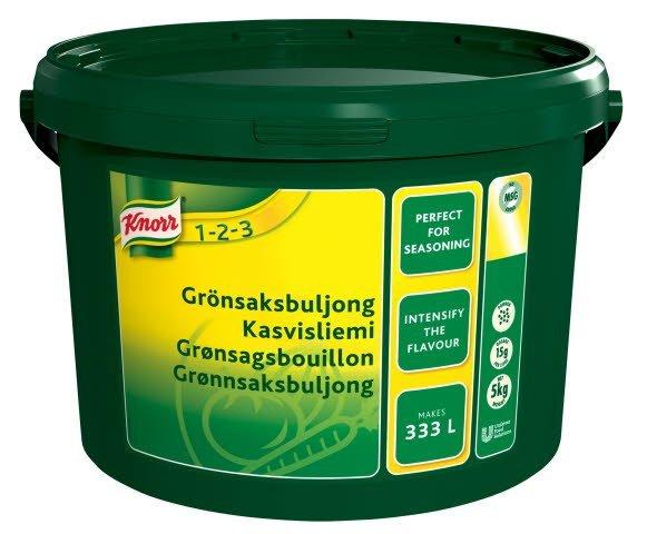 Knorr Grønsagsbouillon, granulat, økonomi 5 kg / 333 L