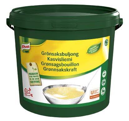 Knorr Grønsagsbouillon, pasta 5 kg / 200 L