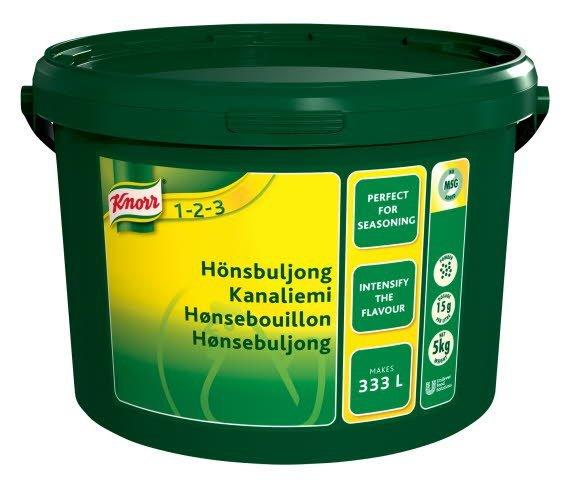 Knorr Hønsebouillon, granulat, økonomi 5 kg / 333 l