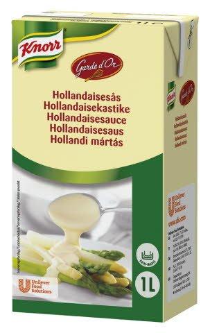 Knorr Hollandaisesauce, serveringsklar, 6 x 1 liter