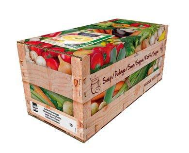 Knorr Indisk Karrysuppe, 100% Soup 4 x 2,5 kg / 4 x 2,4 l