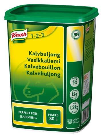 Knorr Kalvebouillon, granulat 1,2 kg / 80 l