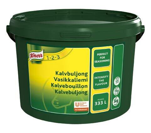 Knorr Kalvebouillon, granulat. økonomi  5 kg / 333 L