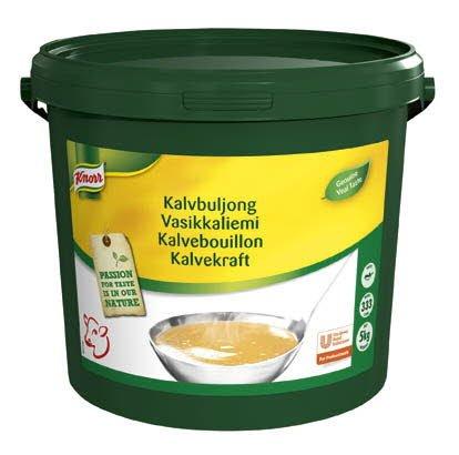 Knorr Kalvebouillon, pasta, økonomi 5 kg / 333 L