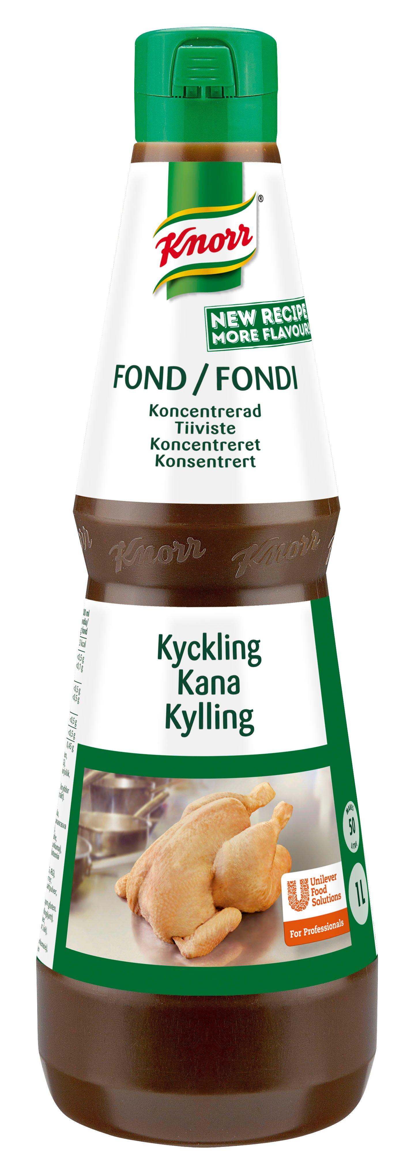Knorr, Koncentreret Kyllingefond 1 L