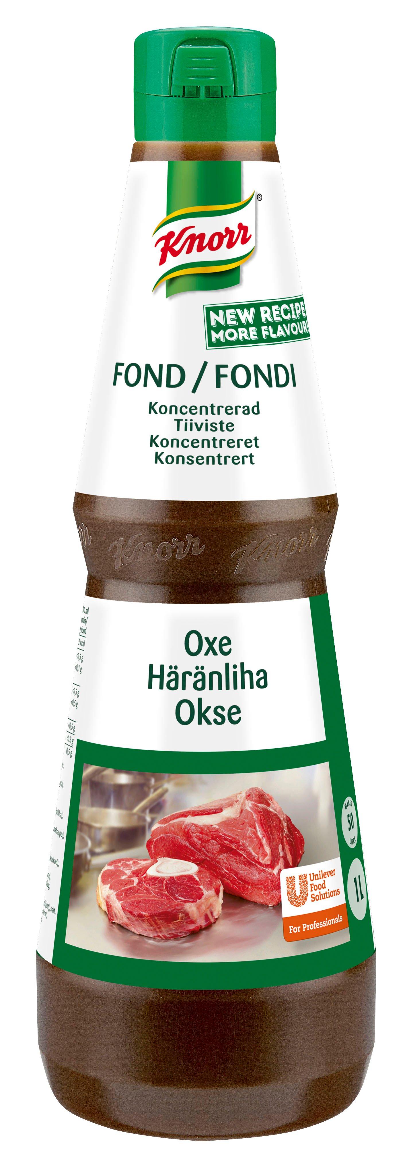 Knorr, Koncentreret Oksefond, 1 L