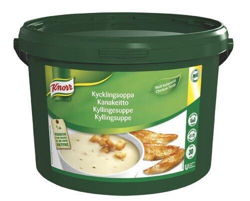 Knorr Kyllingesuppe 1 x 3 KG / 30 L