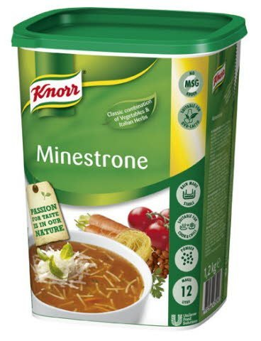 Knorr Minestrone 1,2kg / 12 L -