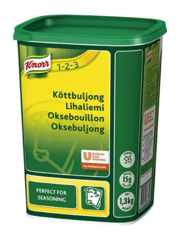 Knorr Oksebouillon, granulat 1,3 kg / 87 l