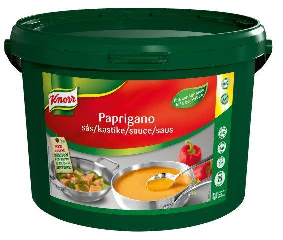 Knorr Paprigano sauce 3 kg / 25 l