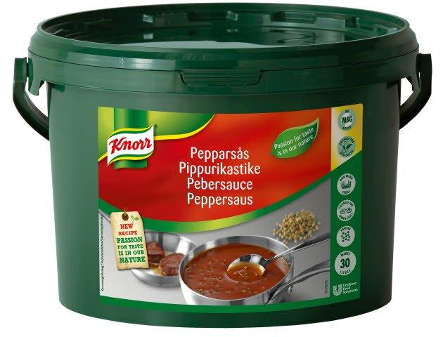 Knorr Pebersauce 3,6 kg / 30 l
