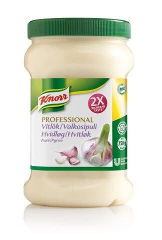 Knorr Professional Krydderipuré Hvidløg 750 g