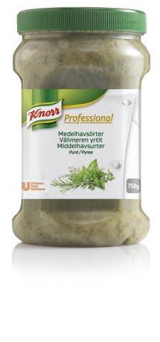 Knorr Professional Krydderurtepuré Middelhavsurter 750 g