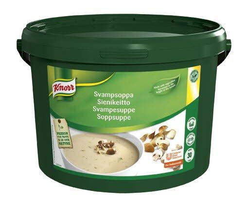 Knorr Svampesuppe 1 x 3 KG / 30 L
