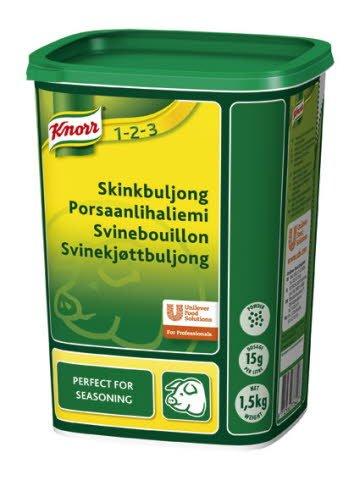 Knorr Svinebouillon, granuleret 1,5 kg / 100 l