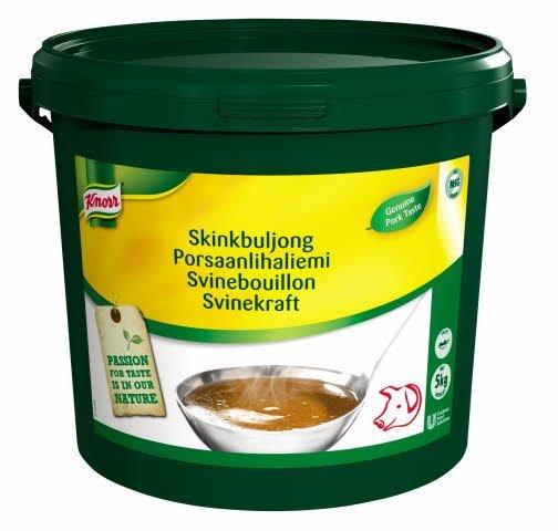 Knorr Svinebouillon, pasta, økonomi 5 kg / 200 L