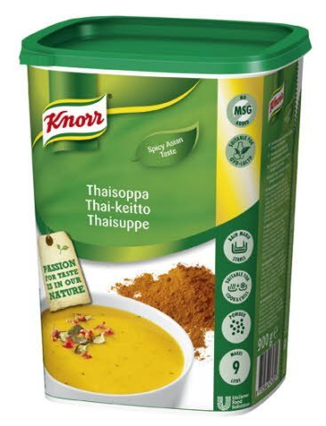 Knorr Thaisuppe 0,9 kg / 9 L