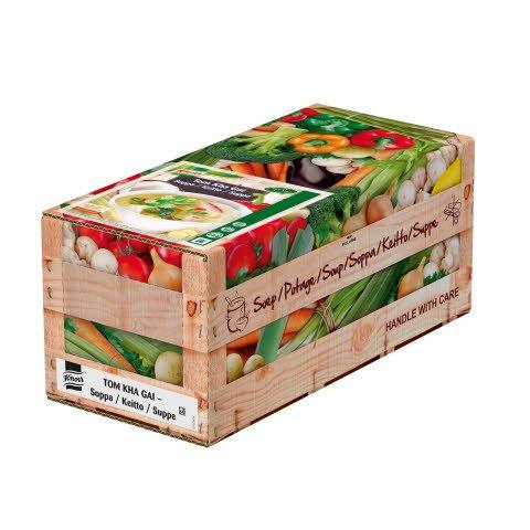 Knorr Tom Kha Gai, 100% Soup 4 x 2,5 kg / 4 x 2,4 l
