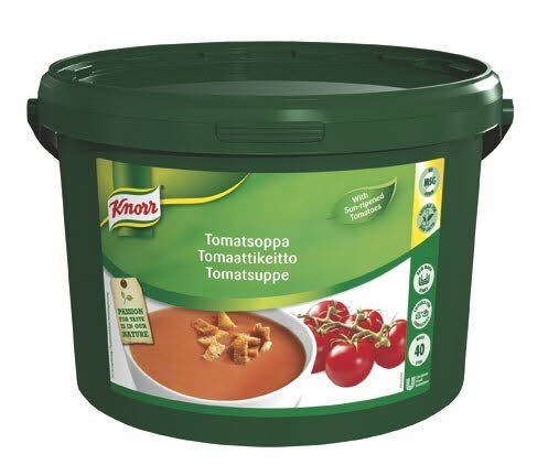 Knorr Tomatsuppe 1 x 4 KG / 40 L