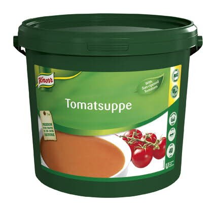 Knorr Tomatsuppe, pasta, 1 x 4 KG / 40 L