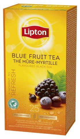 Lipton Blue Fruit Tea, Catering te, 6 x 25 breve