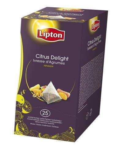 Lipton Citrus Delight, pyramidete, 6 x 25 breve
