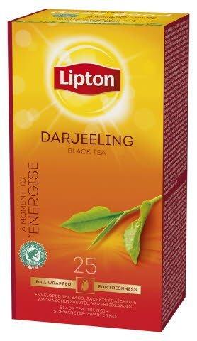 Lipton Darjeeling Himalaya, Classic te, 6 x 25 breve