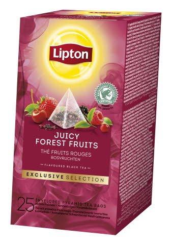 Lipton, Forest Fruit, pyramidete, 6 x 25 breve -