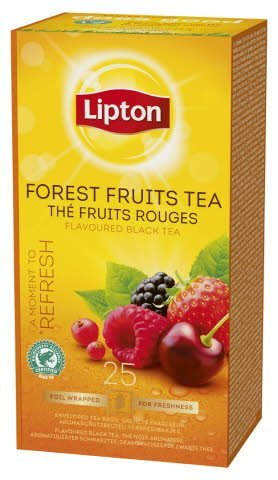 Lipton Forest Fruits, Classic te, 6 x 25 breve