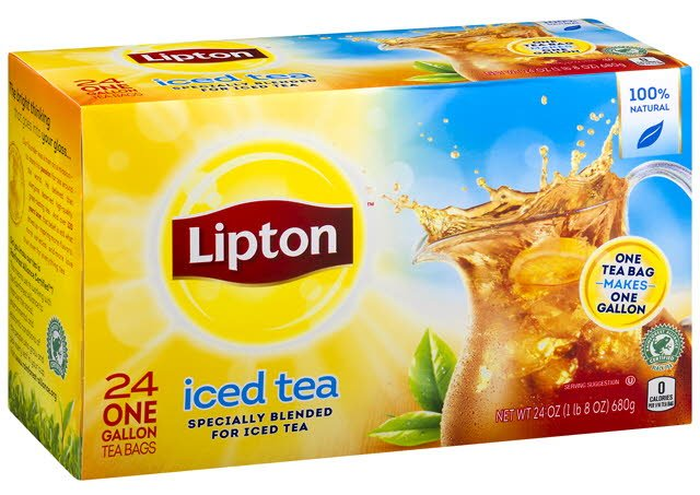 Lipton Fresh Brewed Black Iced Tea