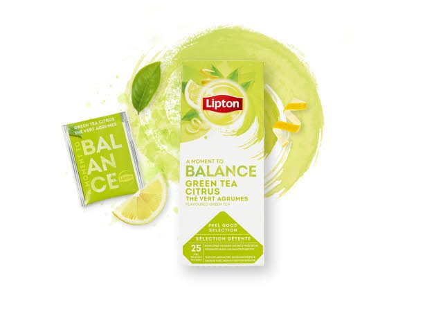 Lipton Green Tea Citrus, 6 x 25 breve -