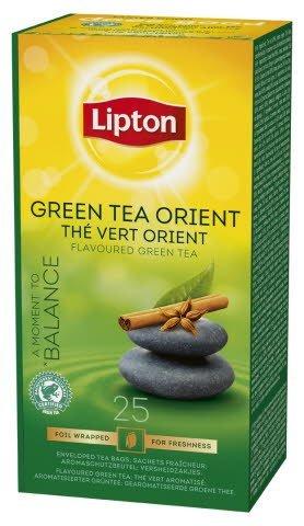 Lipton Green Tea Orient, Catering te, 6 x 25 breve