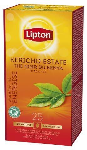Lipton Kericho Estate Tea, Classic te, 6 x 25 breve