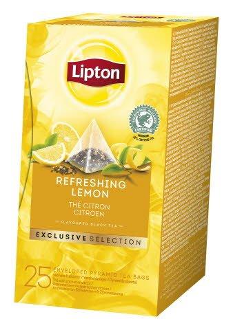 Lipton Lemon, pyramidete, 6 x 25 breve
