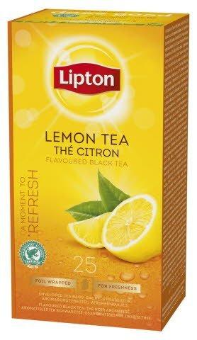 Lipton Lemon Tea, Classic te, 6 x 25 breve