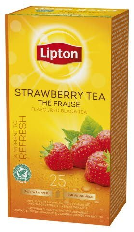 Lipton Strawberry Tea, Catering te, 6 x 25 breve